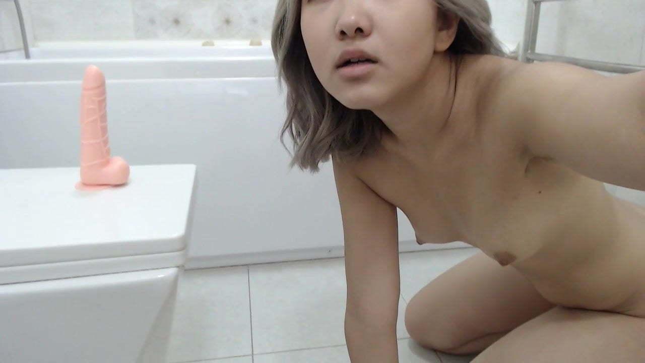 Girl Masturbates Under Desk