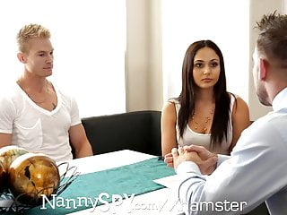 Anime adult fuck viedo - Nannyspy step dad shame fucks nanny for fucking adult son