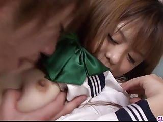 Hiroko noriko fucked Young noriko kago enjoys hard sex with an older man