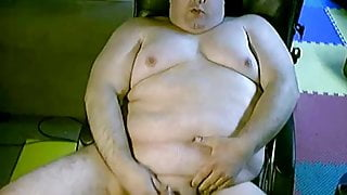 Young Chubby Man Cums