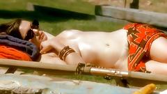 Nude Celebs - Sunbathing Scenes vol 1