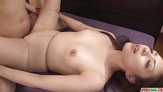 Maki Mizusawa sure loves holding - More at Japanesemamas.com