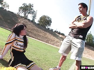Cheerleading coach nude picture Brokenteens cheerleader destroyed by the coach