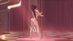 Dead or alive momiji poledance