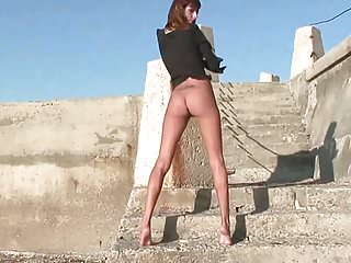 Trace porn milf Traces of history under her bare feet