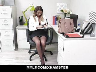 Big tit milfs sucking Mylf - big tit milf beauty sucks off her boss for a raise
