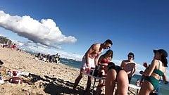 Bikini-Girls am Strand