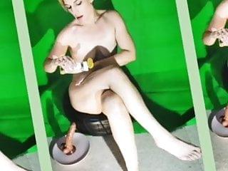 Massage sex scene Behind the scenes
