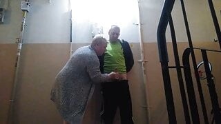 oral sex and masturbation for cock in the entrance 1