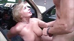 STUNNING WOMEN 25 (sex in the car)