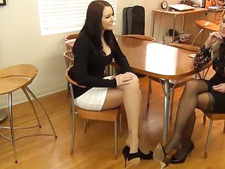 Pantyhose alexis taylor shannan leigh - Randy and alexis makes you feel happy with feet