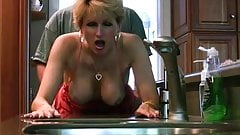 Mature Lady Fucks and Sucks