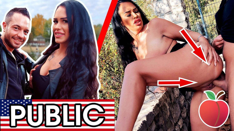 Wilder Outdoor Sex mit Zara Mendez