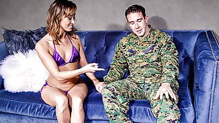 Asian StepMom Christy Love Welcomes Home Stepson In The Best Way