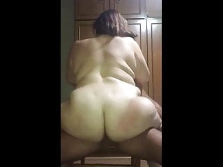 Porn stallion Chubby riding on her stallion