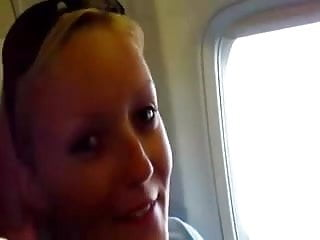 How to give a blow job illustrated Gorgeous blond teen gives a blow job in economy class
