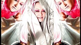 Goddess Lana Dominates Bruci with Seductive smooth silk