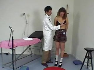 Natural nude teen Humiliating nude gyno examination and spanking bdsm doctor