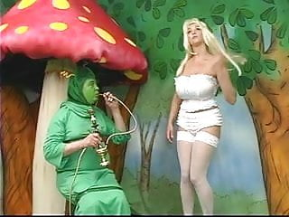Alice in wonderland nude fuck Sexy alice with fat tits gets lost in wonderland and plays with a caterpiller
