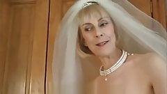 hazel in wedding dress