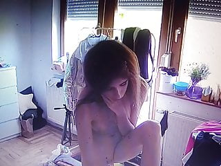Old voyeur nude Young girls are getting ready to make nude pictures spy.