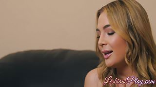 Blair Williams and Carter Cruise licking their tight pussies