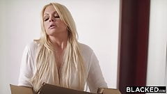 BLACKED Jesse Jane came back just for the BBC
