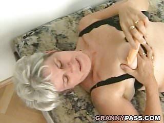 Grannies take on huge cocks Hairy grandma takes huge young cock