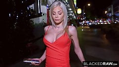 BLACKEDRAW - MILF on the prowl for bigger BBC