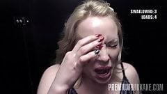 Premium bukkake - Lola Taylor ingoia 36 carichi di sperma