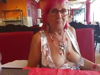 Big chest xxx Old woman showing off her big chest