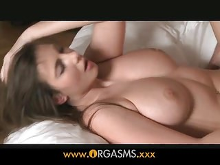 Orgasms - Natural Beauty and her boyfriend
