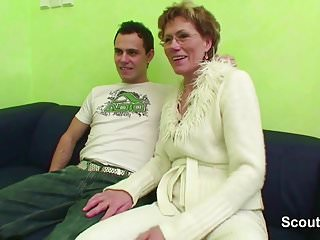 Mature porn old granny - Grandma caught grand son watch porn and help with fuck