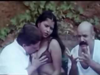 Anilize milf Anil nagarth squeezing b grade actress boobs