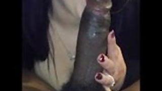 Amateur white girls worshipping big BBC (comp)