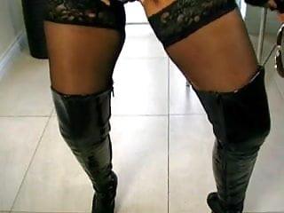 Naked girls cops Pvc bad girl cop