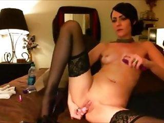 Naked black hair girls Black hair stocking masturbation moaning