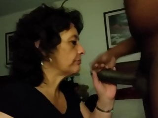 Old lady interracial porn vids - Old lady swallows bbc load