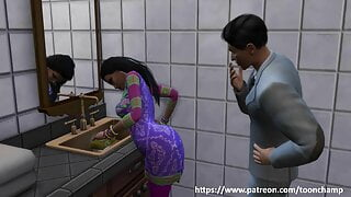 Indian Hot webseries – Maid surprise part 1