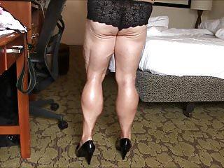 Muscular cheerleader legs porn - Bbw muscular legs