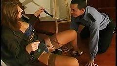 Hot woman fuck security