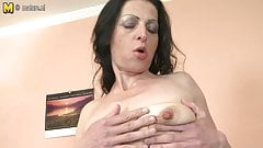 Skinny mature mom needs a good fuck