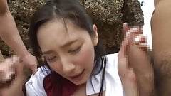 Crazy Japanese model