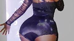 Nicki Minaj tribute while twerking