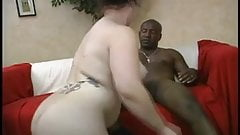 Chubby White Chick With Nice Ass Takes Black Dick