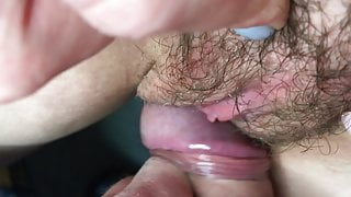 I love it when the head of the dick slides over my clit