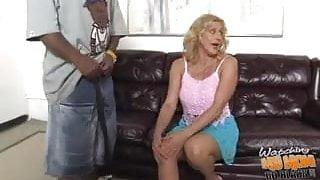 Dirty white mature stepmom Dana Devine owned by BBC