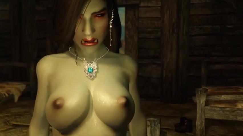 Skyrim porn orc female hentay pic