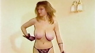 MY SHARONA - vintage big tits 80s dance striptease