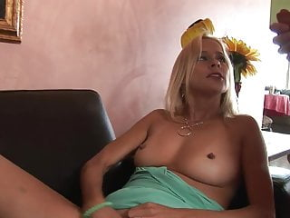 Milf huge tits hole Horny blonde milf gets her hole stretched by huge dick